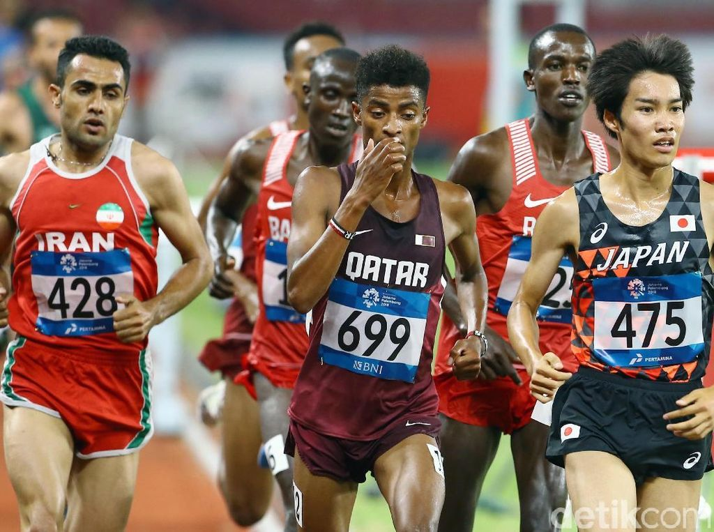 Pelari Iran Berjaya di 3000 Meter Lari Halang Rintang