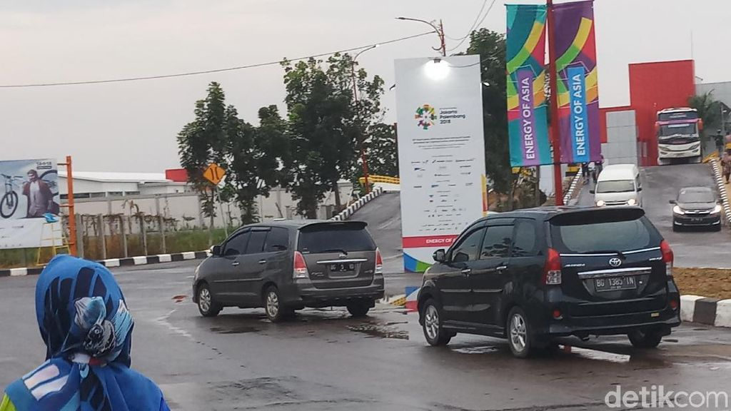 Asian Games 2018, Jakabaring Green Sport City, dan Mobil-Mobil Liar Itu