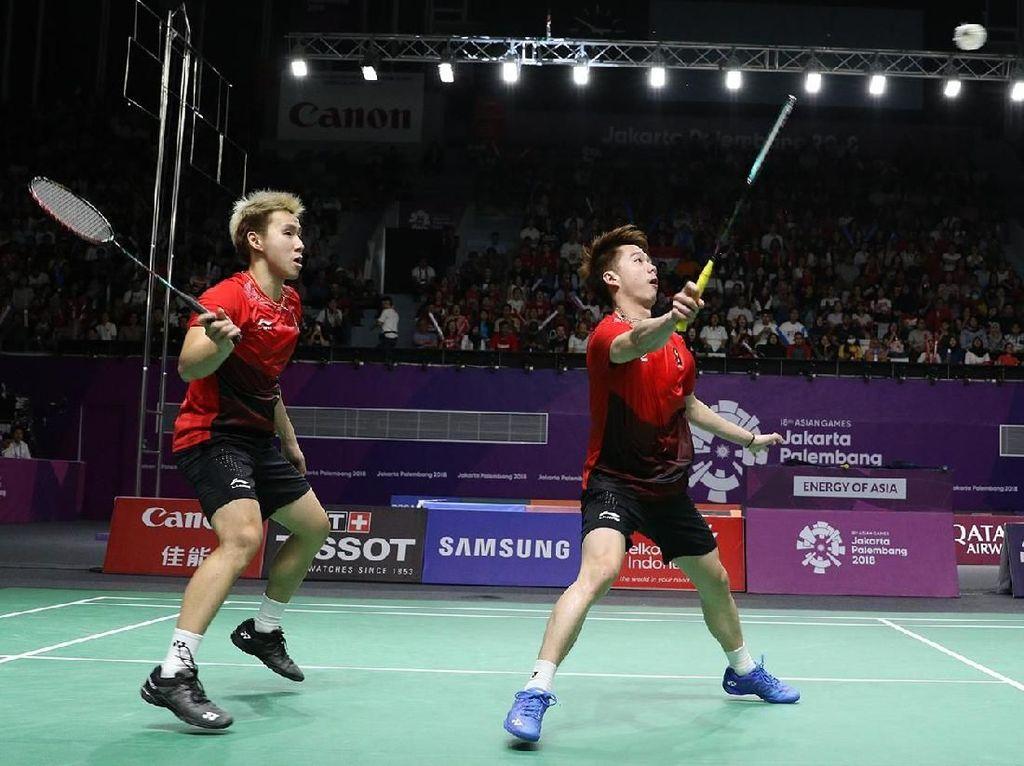 Menangi Perang Saudara atas Fajar/Rian, Kevin/Marcus Raih Emas Asian Games