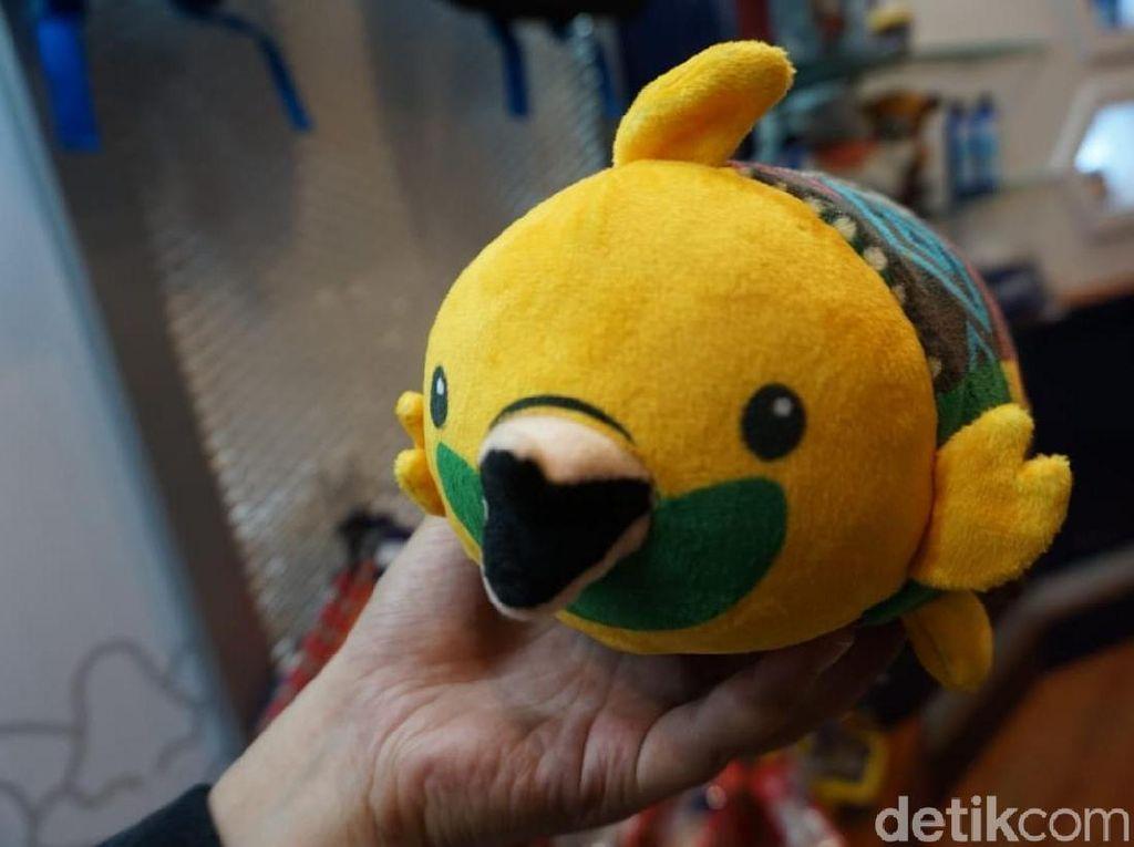 Begini Susahnya Produksi Boneka Maskot Asian Games