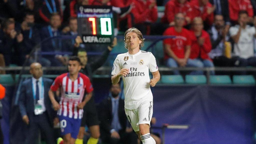 Jadi Pemain Terbaik Eropa, Modric: Luar Biasa!