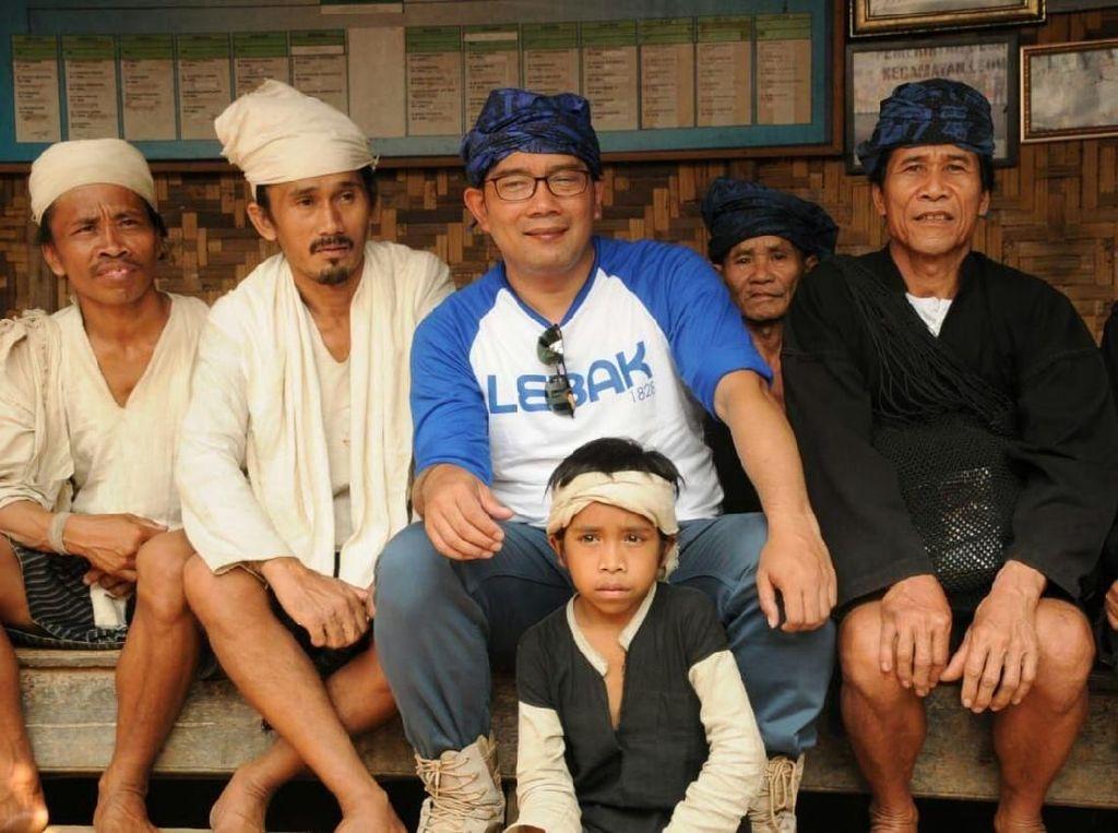 Kerjasama Pariwisata dengan Lebak, Ridwan Kamil Menginap di Baduy