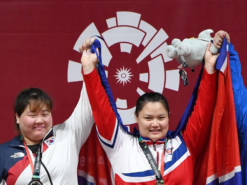 Korea Utara Juara Umum Angkat Besi, Indonesia Keempat