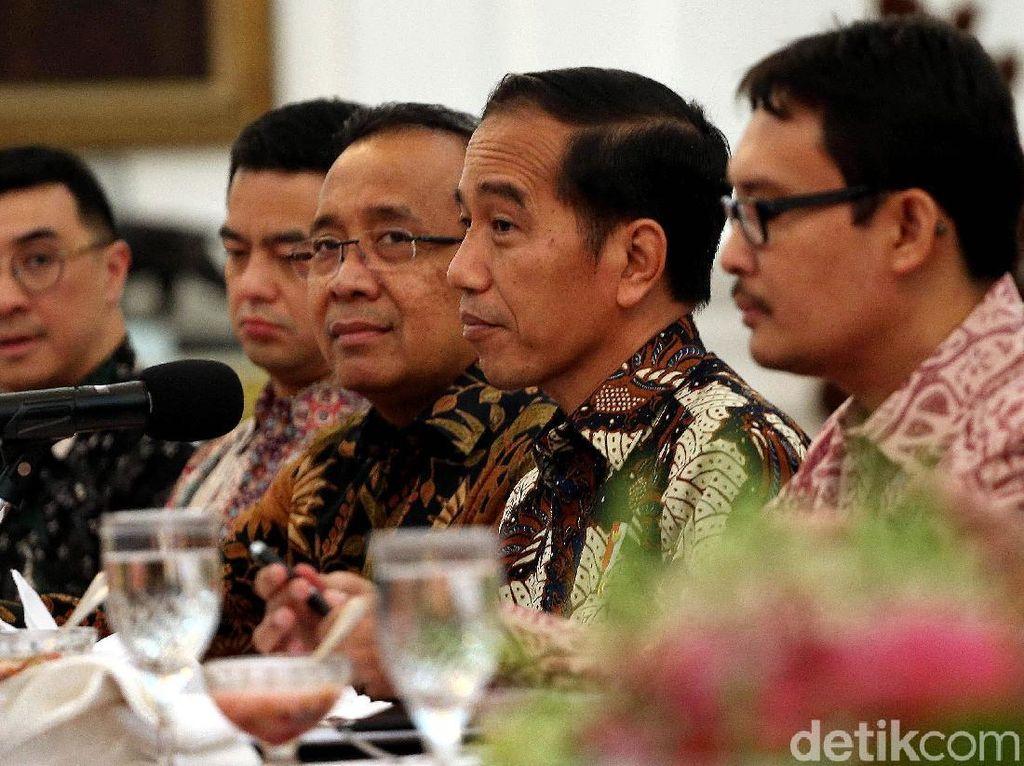 Pesan Jokowi ke Konglomerat Milenial