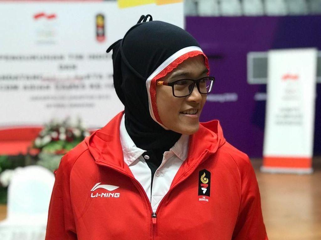 Kenalan dengan Puspa, Hijabers Jago Silat yang Raih Emas di Asian Games