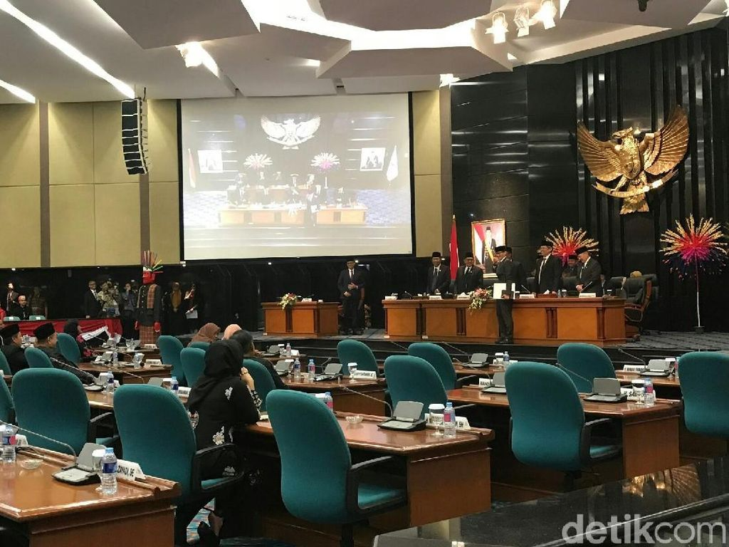 DPRD Gelar Paripurna Pemilihan Wagub DKI 22 Juli