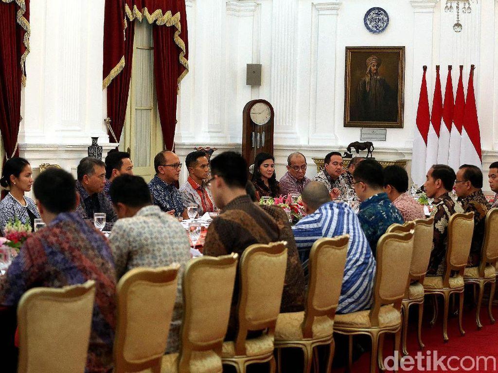 Saat Jokowi Dekati Konglomerat Milenial