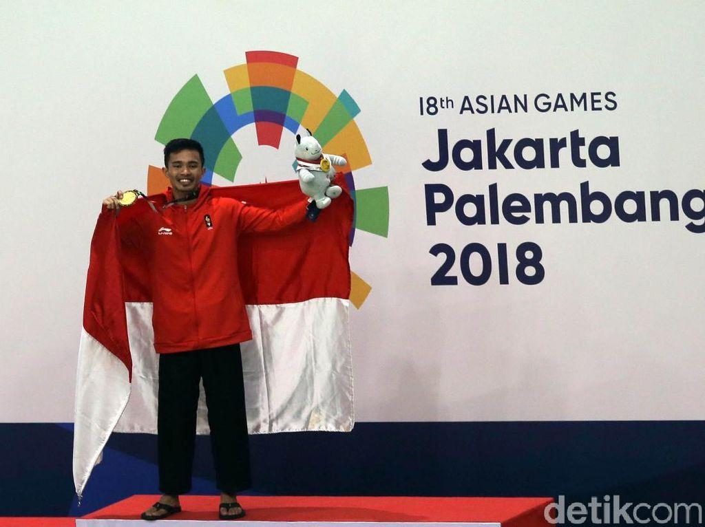 Asian Games 2018: Abdul Malik Tambah Emas Silat Indonesia Jadi 8