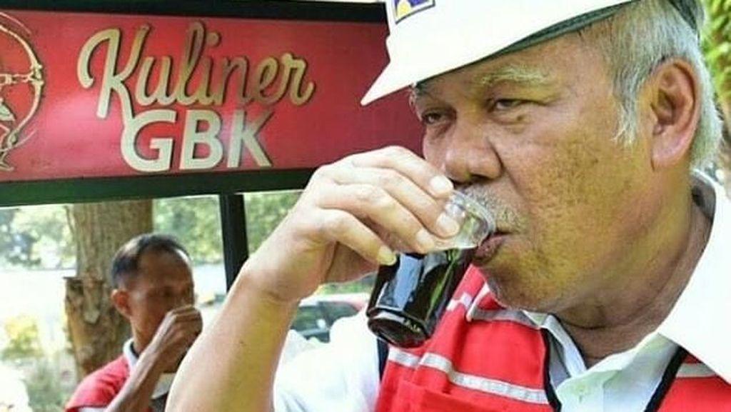 Ngopi dan Makan Bareng Presiden, Ini Gaya Kulineran Menteri PUPR Basuki