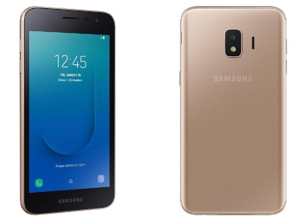 Samsung Rilis Ponsel Murah Android Go