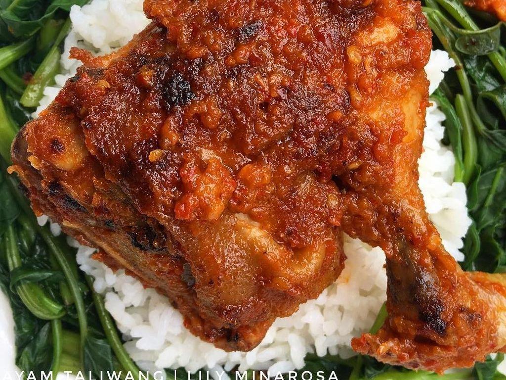 Huaaah! Pedas Mantap Ayam Taliwang yang Menggoda Buat Makan Siang