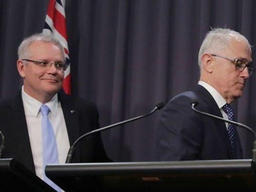 Penjelasan Mengapa Morrison Jadi PM Australia Menggantikan Turnbull
