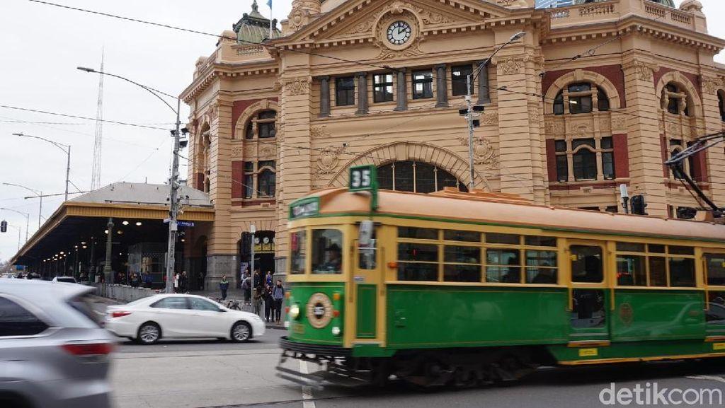 Foto: Yang Asyik di Melbourne Australia, Tram Gratis