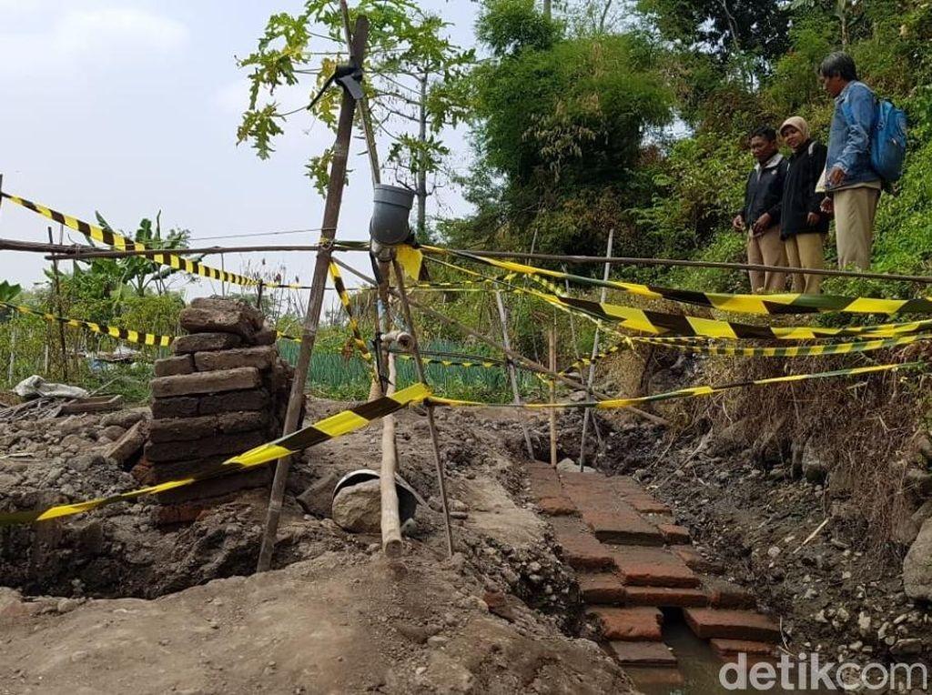 Struktur Bata di Pasuruan Dipastikan Situs Peninggalan Kerajaan