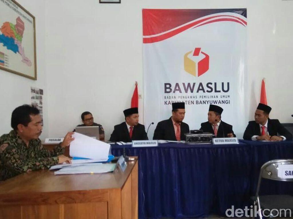 Bawaslu Gelar Sidang Ajudikasi Konflik KPU Banyuwangi dan PPP