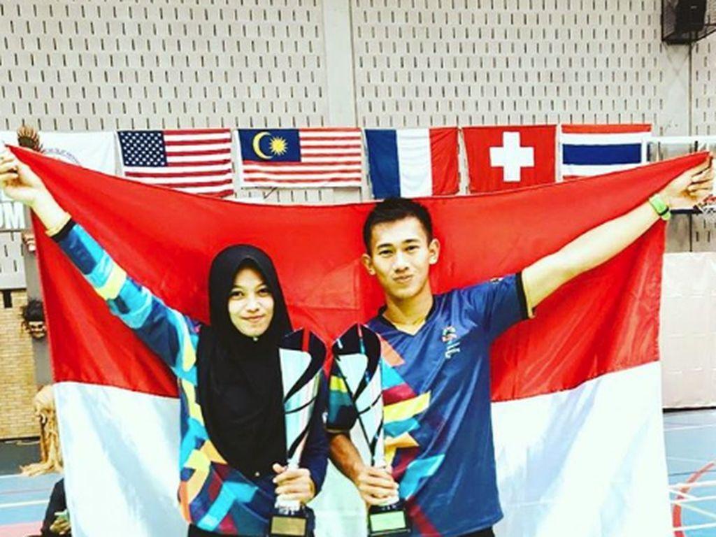 Harmonisnya Pasangan Atlet Pencak Silat Sarah Tria Monita-Iqbal
