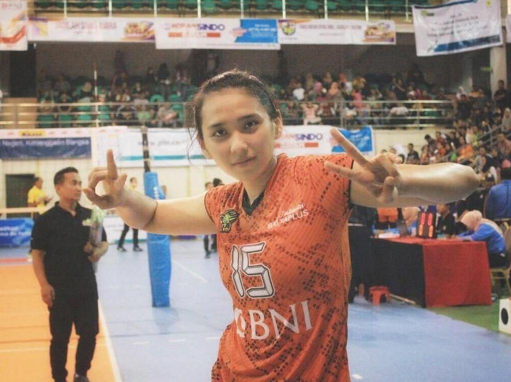 Bugarnya Yolla Yuliana, Atlet Voli Cantik yang Mundur dari Asian Games