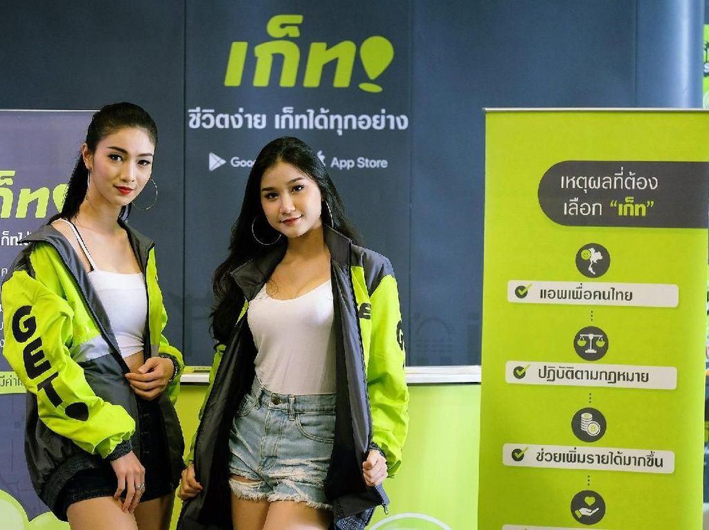Perkenalan Go-Jek Thailand Disambut Antusias