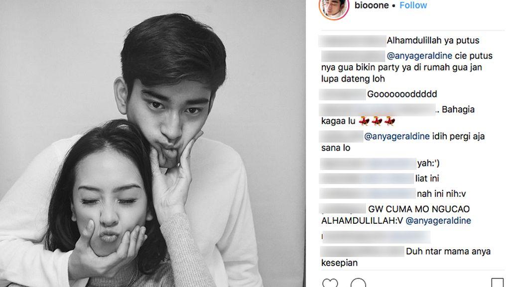 Anya Geraldine dan Bio One Putus, Kok Netizen Bahagia?