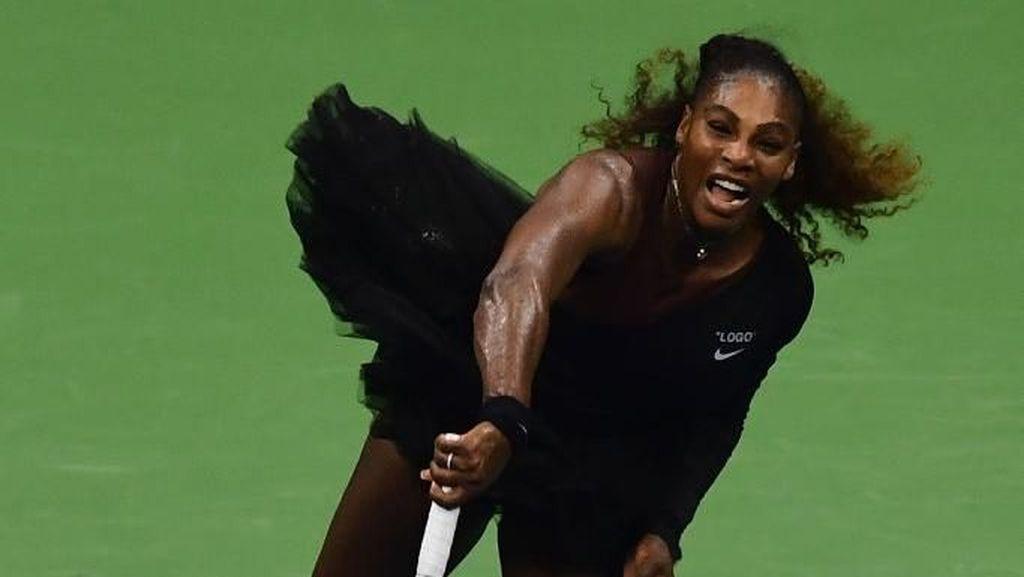Kostum Wakanda Dilarang, Serena Williams Bergaya Bak Balerina di US Open