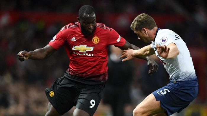 Tottenham Hotspur vs Manchester United di putaran I Liga Inggris 2018/2019. (Foto: Clive Mason/Getty Images)