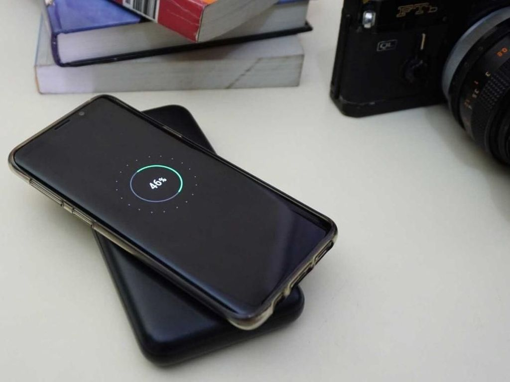 Acmic Rilis Power Bank Wireless Charging 10.000 mAh