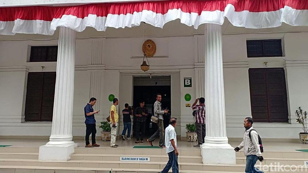 Foto: Suasana PN Medan Pasca KPK OTT Hakim