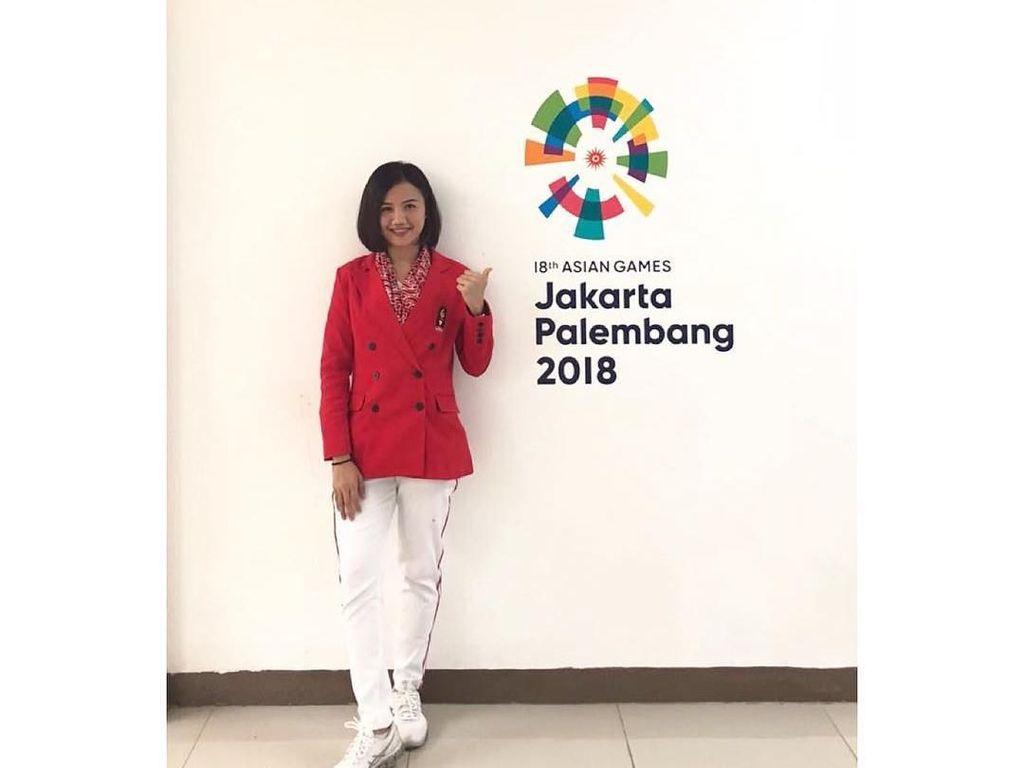 Si Lincah Srunita Sari, Karateka Cantik RI yang Badannya Lentur Banget