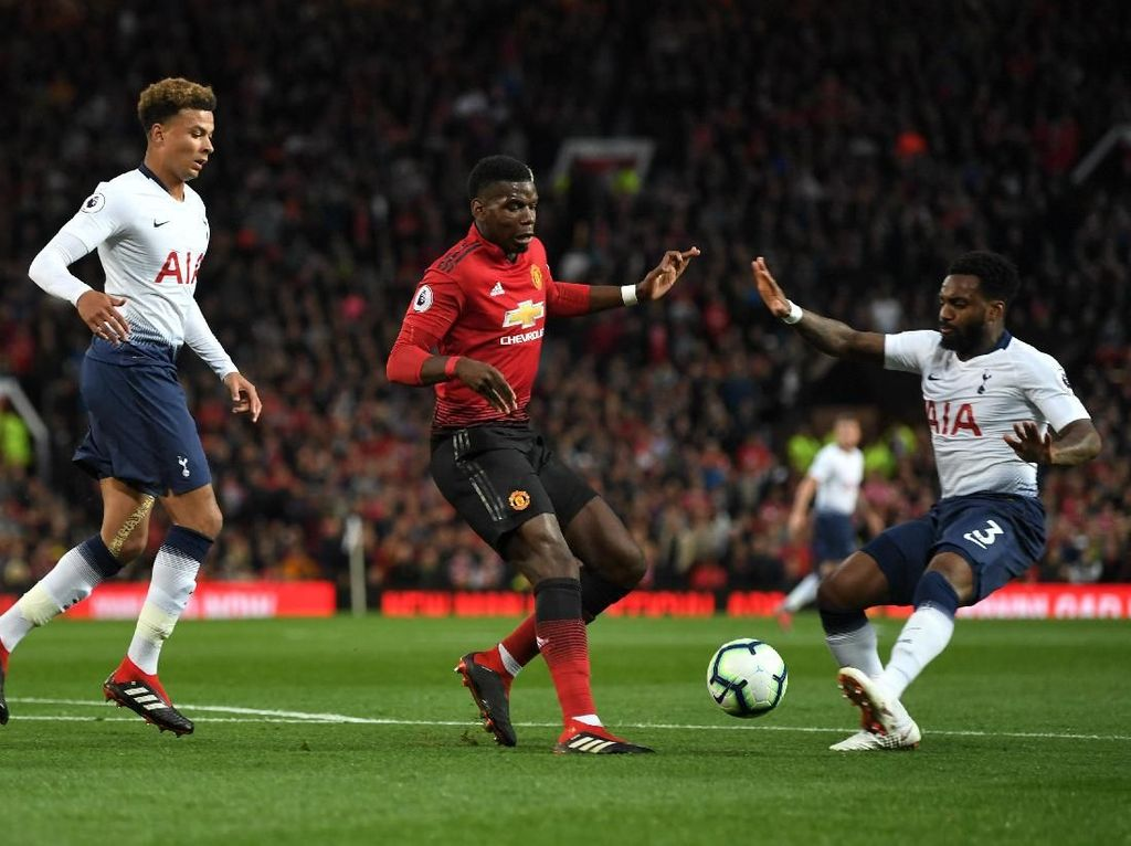 Kombinasi Starting XI Tottenham-MU