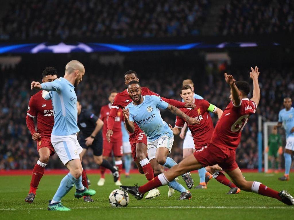 Pique: City Lebih Favorit Dibanding Liverpool