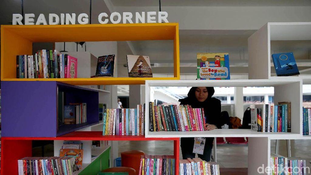 Ada Pojok Baca untuk Para Pengunjung Asian Games di GBK
