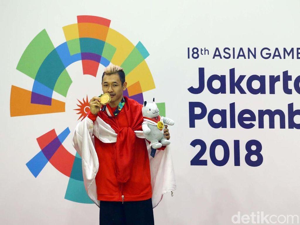 Pesilat Peraih Medali Asian Games: Terima Kasih Bonusnya, Pak Presiden