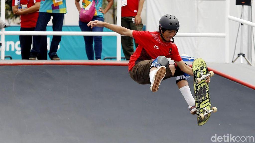 Skateboard Indonesia Sumbang Perak dan Perunggu