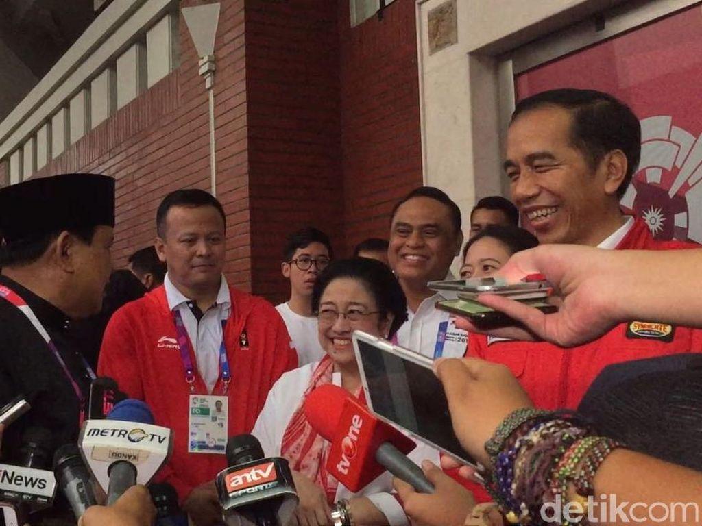 Kata PDIP soal Momen Nostalgia Mega-Prabowo