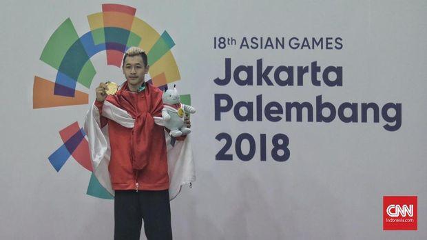 Peraih emas Asian Games 2018 mendapat Rp1,5 miliar.