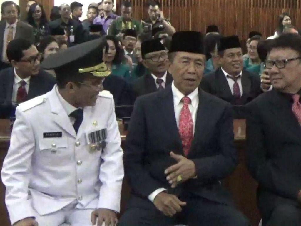 Mangku Pastika Purnatugas, Plt Gubernur Bali Dilantik