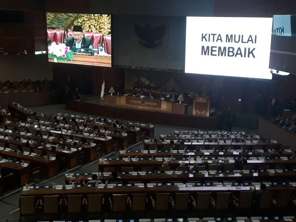 HUT DPR Ke-73, Bamsoet Banggakan Parlemen yang Mulai Membaik