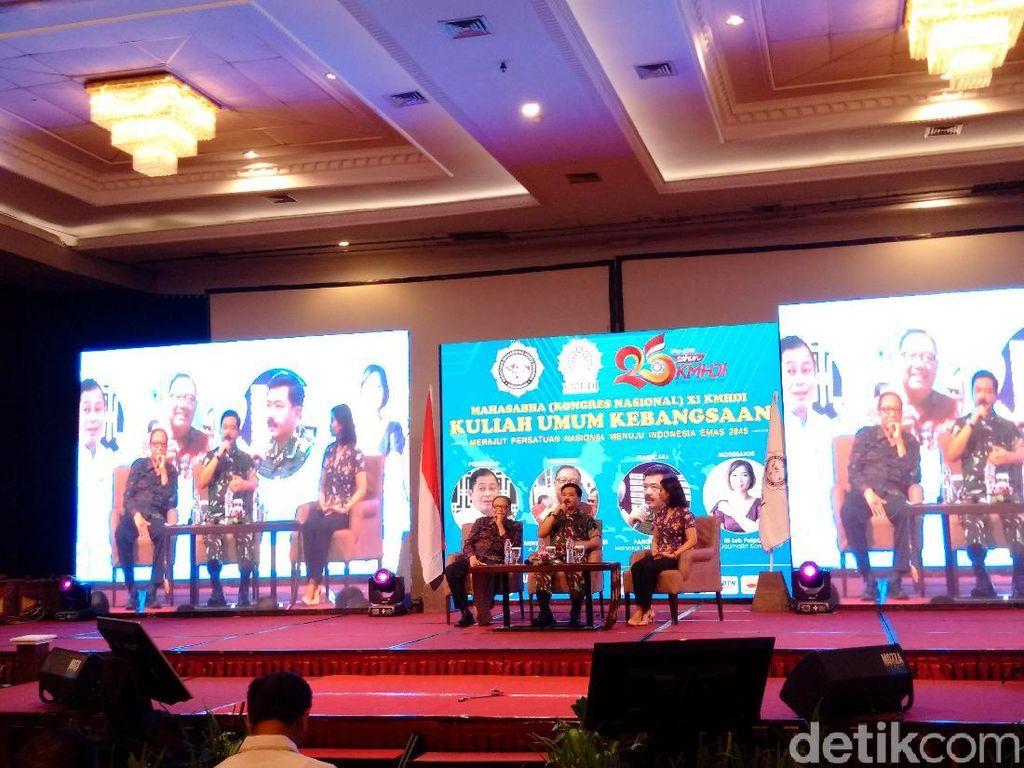 Beri Kuliah Umum di Kongres Mahasiswa Hindu, Ini Pesan Panglima TNI