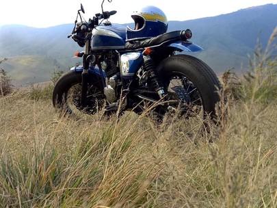 Yamaha Scorpio Bratbobber, Bannya Gendut