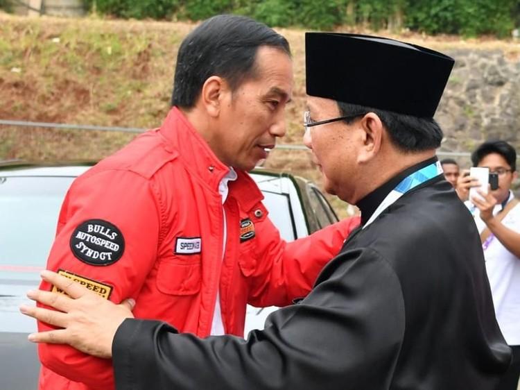 Indo Barometer: 9 Survei Tunjukkan Jokowi Selalu Ungguli Prabowo