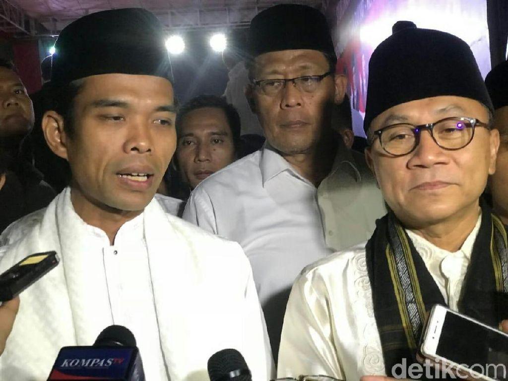 Ustaz Abdul Somad Berdoa untuk Korban Gempa-Tsunami di Palu