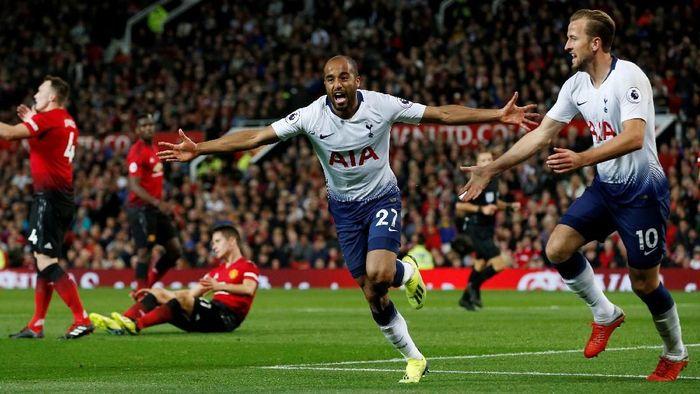 Lucas Moura tampil impresif di awal musim ini bersama Tottenham Hotspur (Foto: Andrew Yates/Reuters)