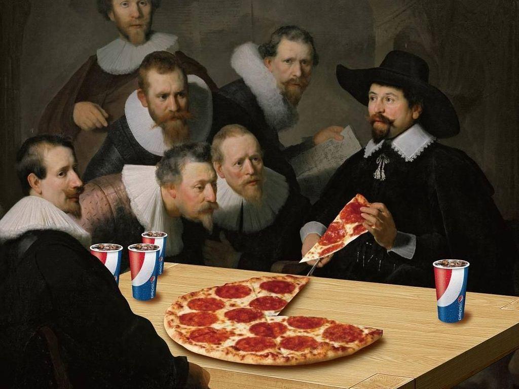 Ini 10 Editan Artis Hollywood hingga Lukisan Renaissance dengan Makanan