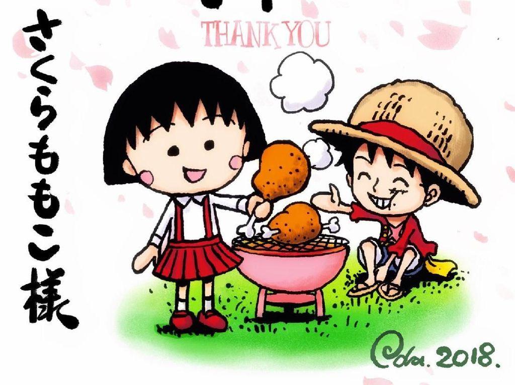 Komikus One Piece Berduka untuk Kepergian Pencipta Chibi Maruko Chan