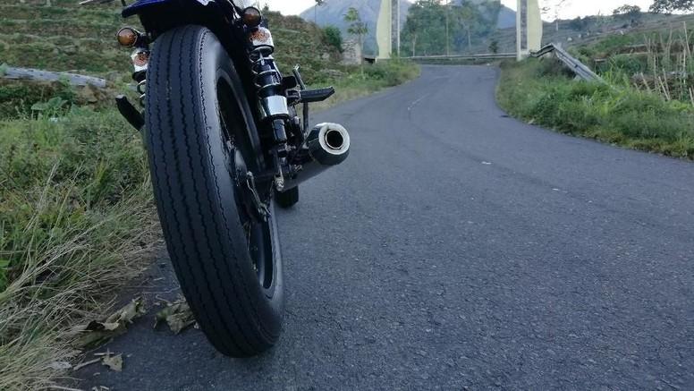 Yamaha Scorpio Penakluk Gunung di Jawa Tengah