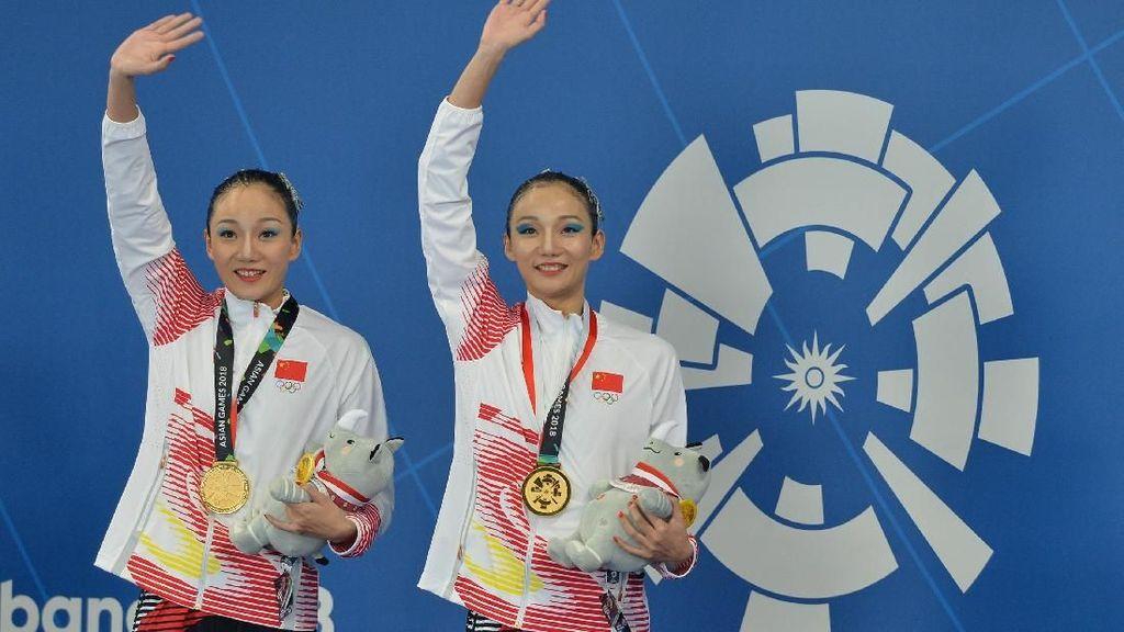 China dan Kazakhstan Punya Kembar Hebat di Renang Artistik
