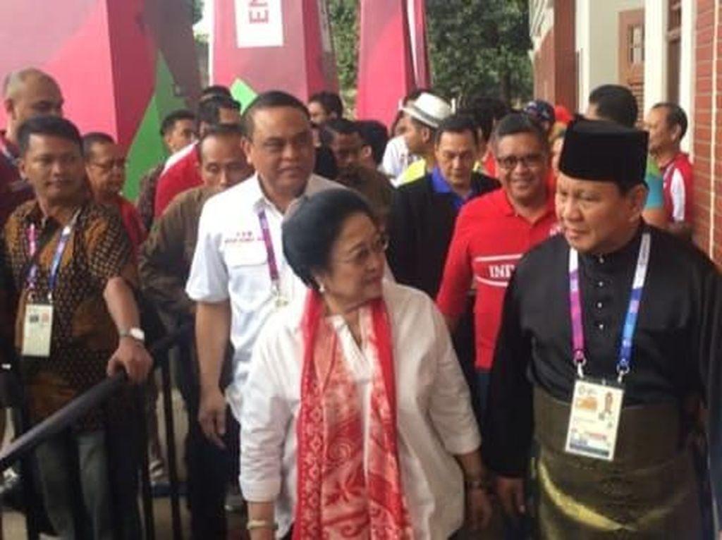 Megawati Mumet Gara-gara Anak Buah Prabowo