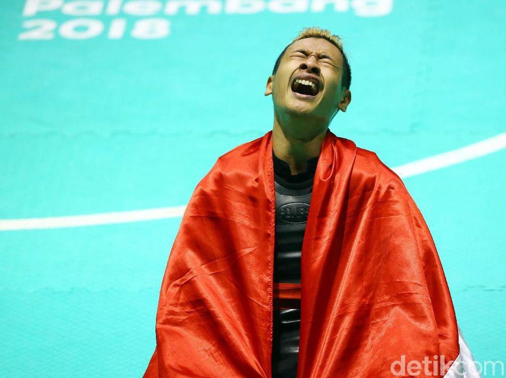 Hanifan, yang Bikin Jokowi dan Prabowo Berpelukan, Punya Gen Pencak Silat
