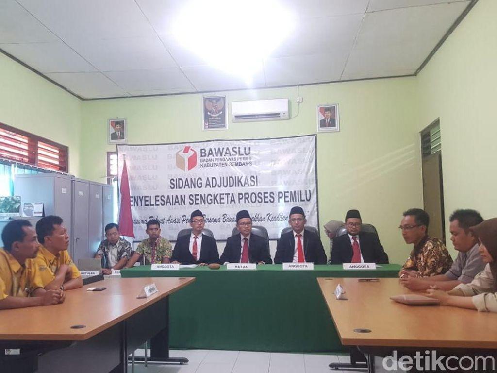 Bawaslu Rembang Perbolehkan Eks Napi Korupsi Masuk DCS Pileg