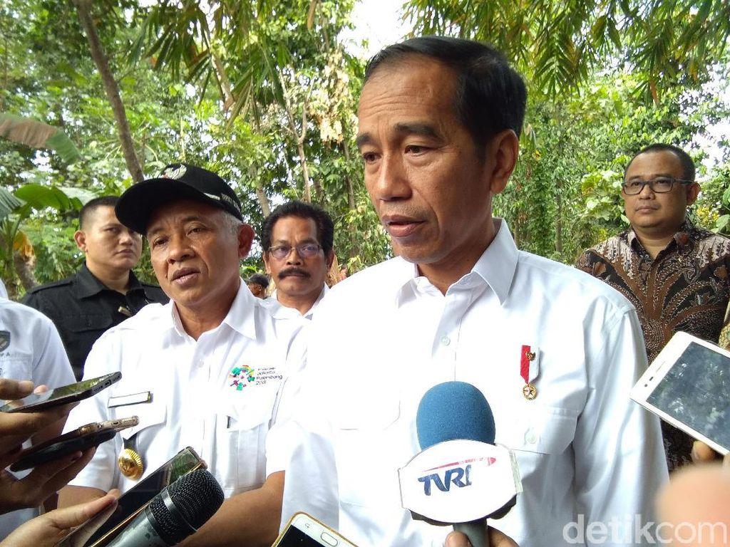 Deklarasi #2019GantiPresiden Ditolak, Jokowi: Semua Ada Batasan